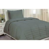 Shop Damask Stripe Comforter Set - Free Shipping On Orders ...