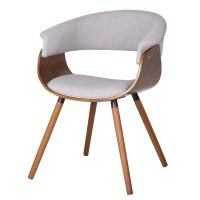Holt Mid Century Bent Wood Accent Chair - Free Shipping ...
