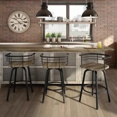 Industrial Kitchen Stools Glass Cabinet Knobs Buy Counter Bar Online At Overstock Com Our Carbon Loft Cantrell Swivel Metal Stool With Distressed Wood Seat