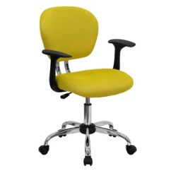 Yellow Office Chair Covers For Sale Philippines Shop Rigmos Mesh Adjustable Swivel With Arms And Chrome Base Free Shipping Today Overstock Com 11443687