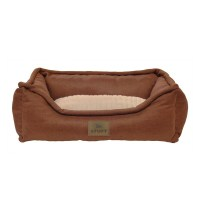 Stuft Dozy Sofa Plush Dog Bed - Free Shipping On Orders ...