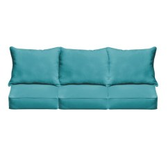 Aqua Sofa Rooms To Go Sectional Shop Havenside Home Morgantown Blue Indoor Outdoor Corded Cushion Set