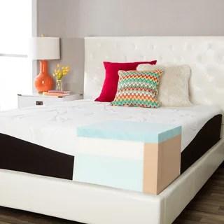 Comforpedic From Beautyrest Choose Your Comfort 14 Inch Queen Size Gel Memory Foam Mattress