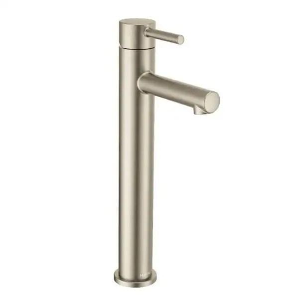moen align one handle bathroom faucet brushed nickel 6192bn