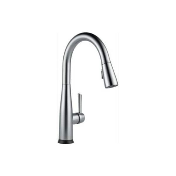 delta single handle kitchen faucet used cabinets for sale nj shop essa pull down with touch2o technology 9113t ar dst arctic stainless free shipping today overstock com