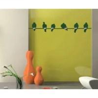 Shop Bird Stick Wall Hanger Decal Vinyl Art Home Decor ...