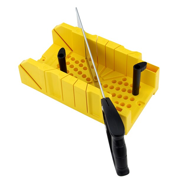 Shop Stanley Hand Tools 20 600 Clamping Miter Box Amp Saw