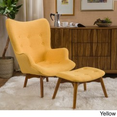 Yellow Chairs For Living Room Llama In My Buy Chair Ottoman Sets Online At Hariata Fabric Contour With Set By Christopher Knight Home