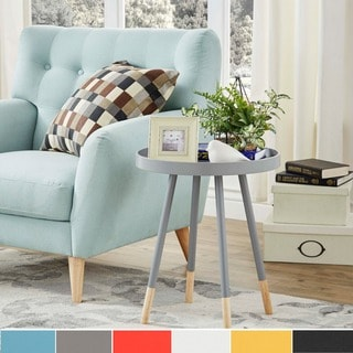 living room round table interior design styles modern buy coffee console sofa end tables online at overstock com marcella paint dipped spindle tray top side inspire q