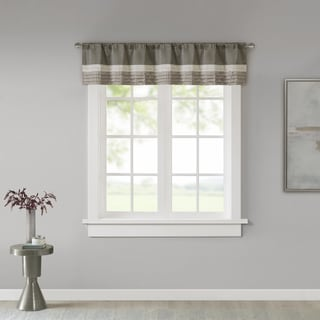 kitchen valance sinks houzz buy valances online at overstock com our best window treatments deals madison park infinity polyoni pintuck