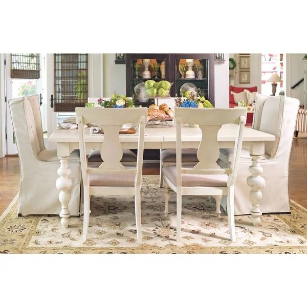 paula deen table and chairs hanging chair stand ikea shop home s in linen finish white free x27
