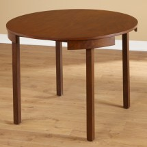 Tobey Compact Round Dining Table Set