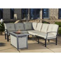 Shop Cosco Outdoor Aluminum Sofa Sectional Patio Set with ...