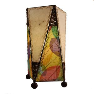 Handmade Trapezoid Table Multi Lamp