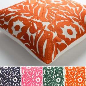 Decorative Lami 18-inch Down/Polyester Filled Throw Pillow