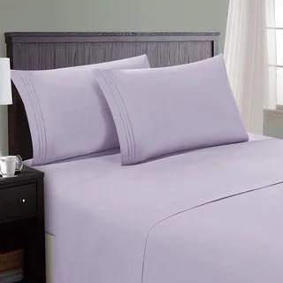 Hotel Luxury Bed Sheets Set 1800 Series Platinum Collection Deep Pockets Wrinkle Fade