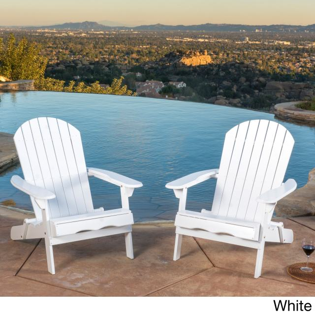 home loft concepts adirondack chair set of 2 white | ebay