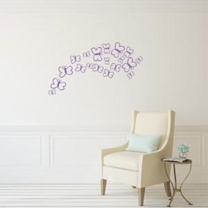 Butterfly Baby Set Wall Decal Vinyl Art Home Decor