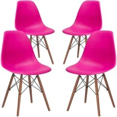 Pink Dining Room Chairs Costco For Sale Buy Kitchen Online At Overstock Com Our Poly And Bark Vortex Chair With Walnut Legs Set Of 4