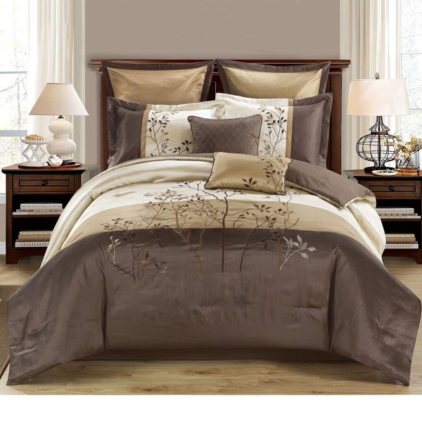 Shop Country Side 8 Piece Comforter Set With Embroidered
