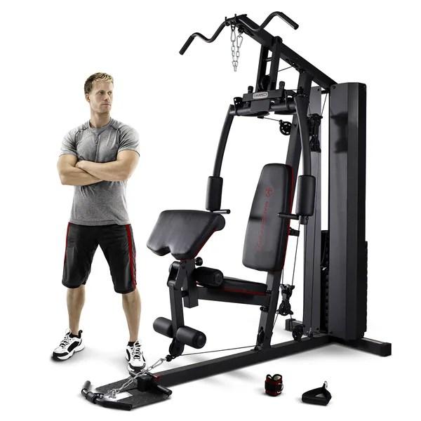 Marcy 200 Pound Stack Home Gym 18682143 Overstock Com