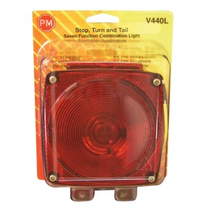 PM V440L Red Stop & Tail Light With License Illuminator