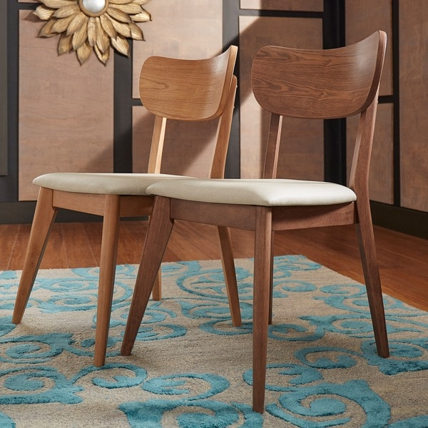 danish modern dining chairs sling chair outdoor shop penelope tapered leg set of 2 inspire q