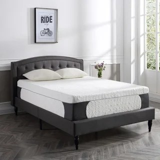 Postureloft Milan 14 Inch King Size Cool Gel Memory Foam Mattress With 2 Bonus