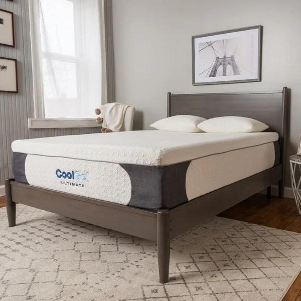 Postureloft Milan 14 Inch Full Size Cool Gel Memory Foam Mattress With Pillow Click To Zoom