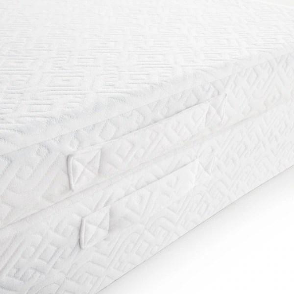 Lucid 3 Inch Twin Size Folding Gel Memory Foam Mattress Free Shipping Today 18733741