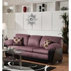 Eggplant Sofa Pillows For Dark Gray Shop Trendz Anita Microfiber Polyurethane Free Shipping Today Overstock Com 11836987