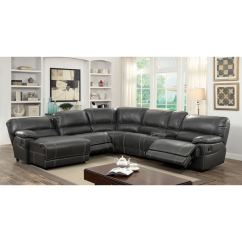 Deals On Reclining Sofas Gumtree Sofa Bed Peterborough Shop Furniture Of America Merson L-shaped Leatherette ...
