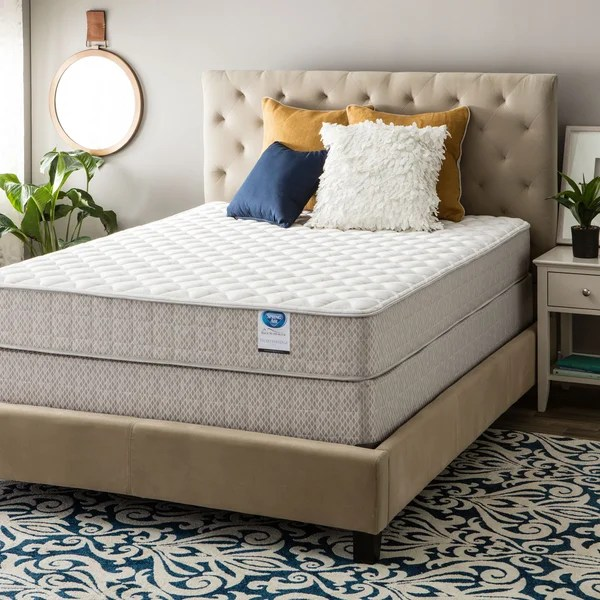 Spring Air Value Collection Northridge King Size Firm Mattress Set
