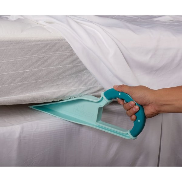 Kotter Home Easy Bed Making Wedge Made Ez Blue Mattress Lifter