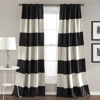 Stripe Curtains & Drapes Shop The Best Deals For Jun 2017