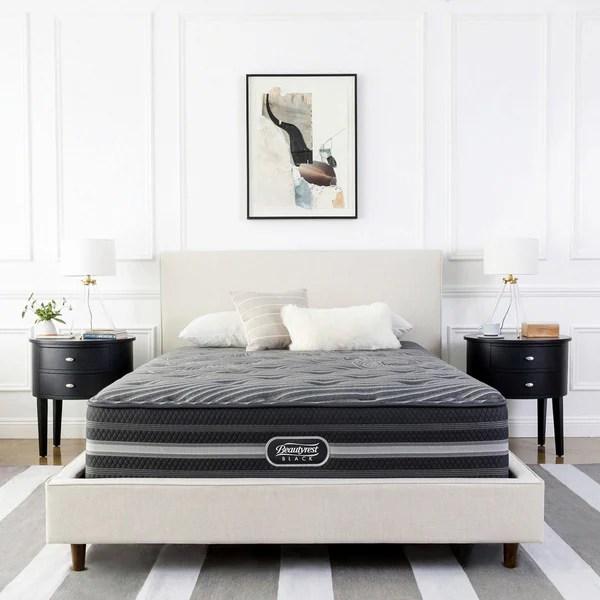 Beautyrest Black Natasha Plush Pillow Top King Size Mattress Set
