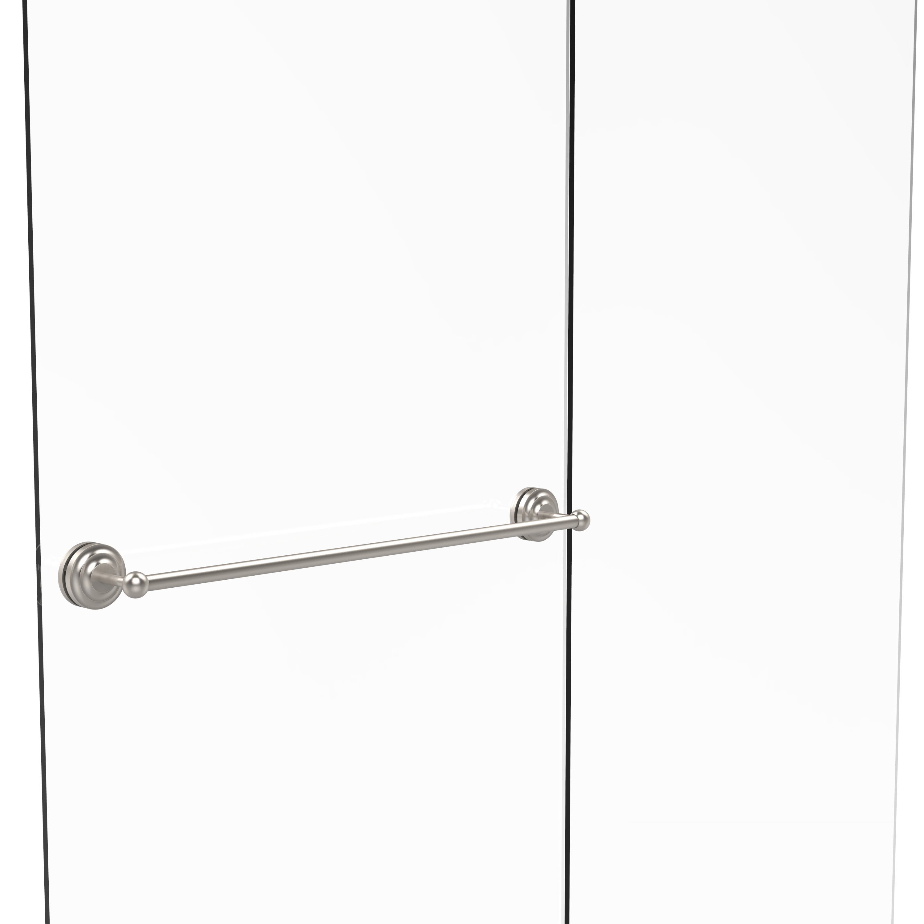 Allied Brass Que New Collection 30-inch Shower Door Towel Bar