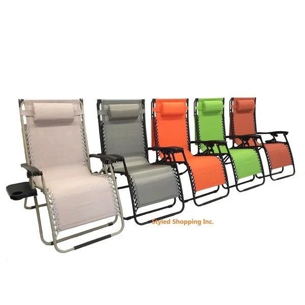 overstock zero gravity chair glider rocker covers shop mesh fabric with steel frame canopy and tray - free shipping today ...
