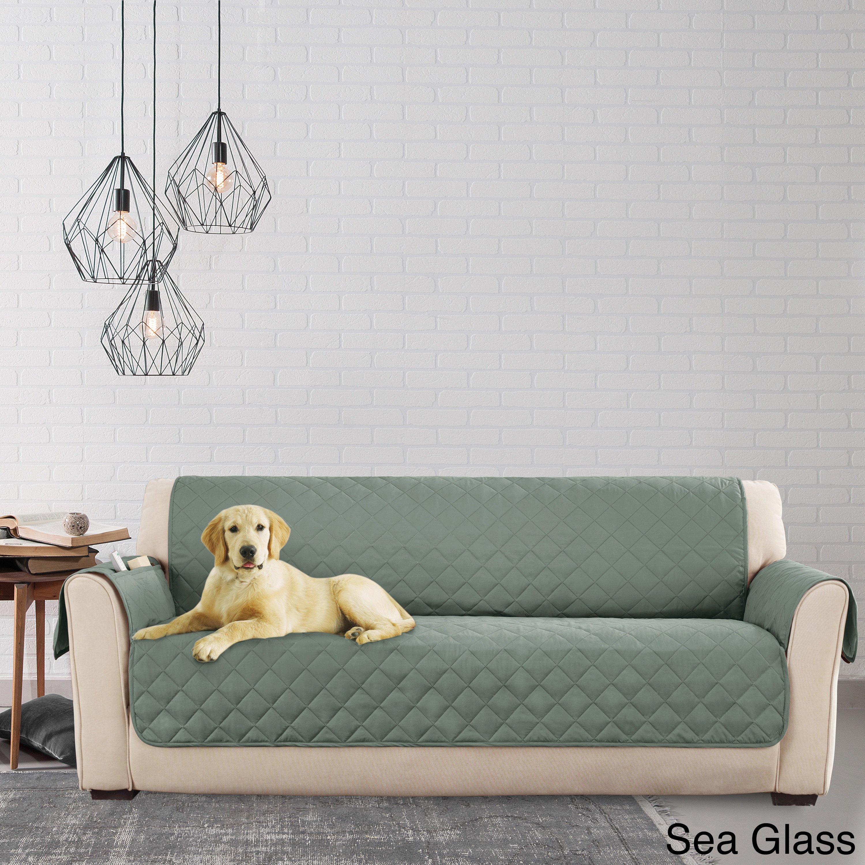 armless sectional sofa pet protector contemporary beach chair sure fit cover deluxe - thesofa