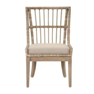 gray rattan dining chairs swivel cuddle chair john lewis shop manor sidney distressed tan mahogany fabric set of 2 free shipping today overstock com 11958058