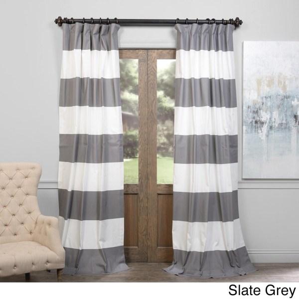Exclusive Fabrics Cabana Cotton Horizontal Stripe 108