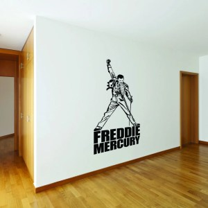 Style and Apply Freddie Mercury Vinyl Wall Decal
