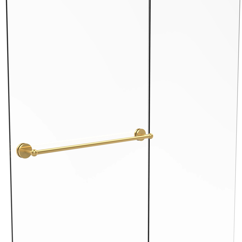 Allied Brass Prestige Skyline Collection 30-inch Shower Door Towel Bar