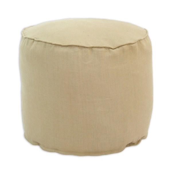 Big Round Tufted Ottoman