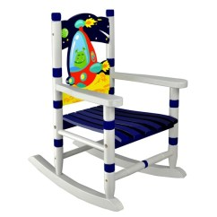 Small Rocking Chairs Blue Wedding Chair Sashes Shop Fantasy Fields Outer Space Wooden Free