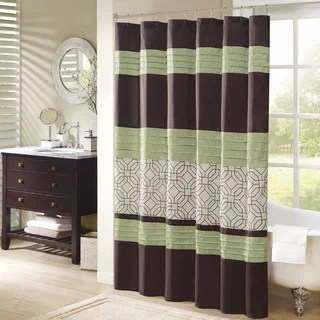 Green Shower Curtains Overstock Com Vibrant Fabric Bath Curtains