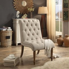 Tufted Accent Chairs Boat Captain Shop Iris Armless Collection Chair On Sale Free
