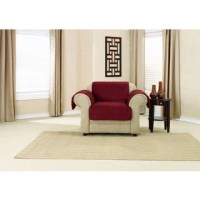 Sure Fit Micro Fleece Chair Furniture Protector - Free ...