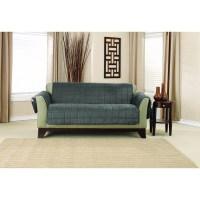 Shop Sure Fit Deep Pile Velvet Loveseat Furniture