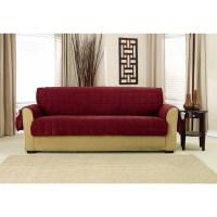 Shop Sure Fit Deep Pile Velvet Sofa Furniture Protector
